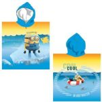 Despicable Me Minions Cool in Hot Water Hooded Poncho Towel